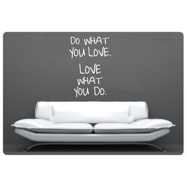 Muurteksten.nl Muurtekst Do what you love