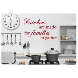 Muurteksten.nl Muurtekst Kitchens are made