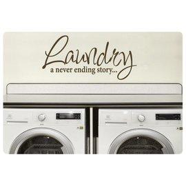 Muurteksten.nl Muurtekst Laundry