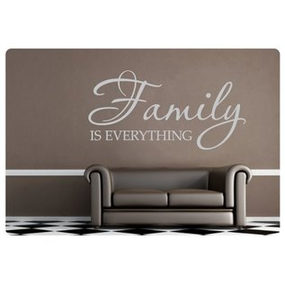 Muurteksten.nl Muurtekst Family is everything