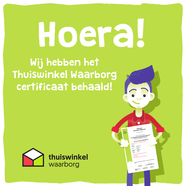 XBEEShop.nl behaalt het Thuiswinkel Waarborg certificaat!