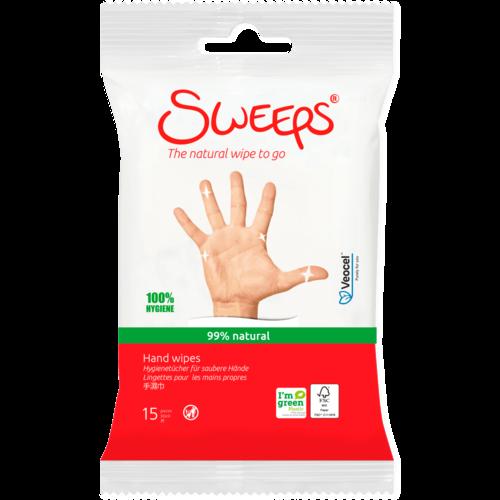 Sweeps Hand wipes voor schone handen