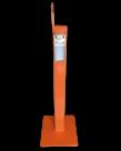 Basisschool Desinfectie zuil met Elleboog Dispenser