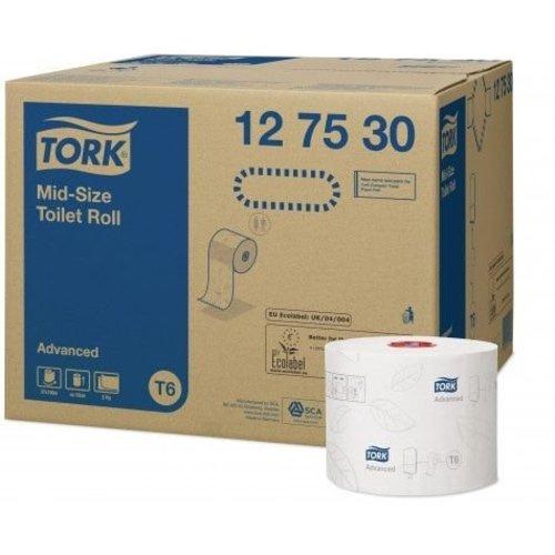 Tork Toiletrol (T6) 2 laags v.p 27 rollen a 90 meter