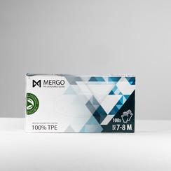 Mergo TPE handschoenen EN 445 en EN374  maat M  200 st per doos