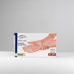 Vinyl handschoenen maat S