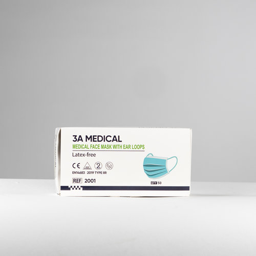 Medische mondkapjes 50 stuks