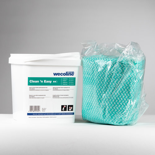 Wecoline Clean'n Easy, Hygienische doeken