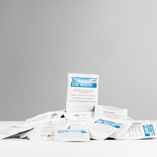 Stay Clean Hygiënisch Reinigingsdoekjes voor je handen 750 Stuks