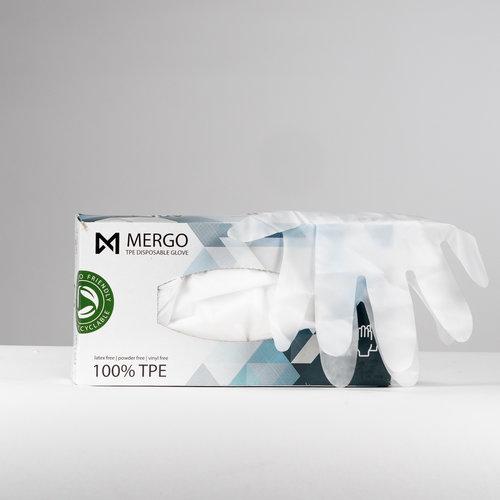 EN374 EN455 Mergo TPE handschoenen maat L 200 st per doos