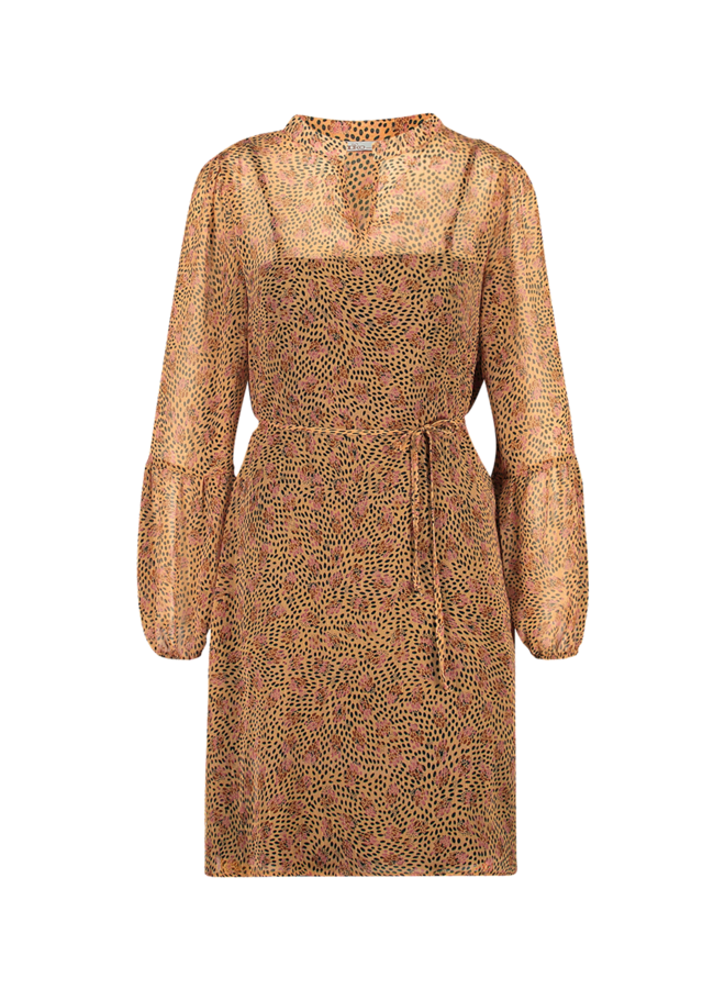 Dress Tesara Pes 517 | soft pumpkin