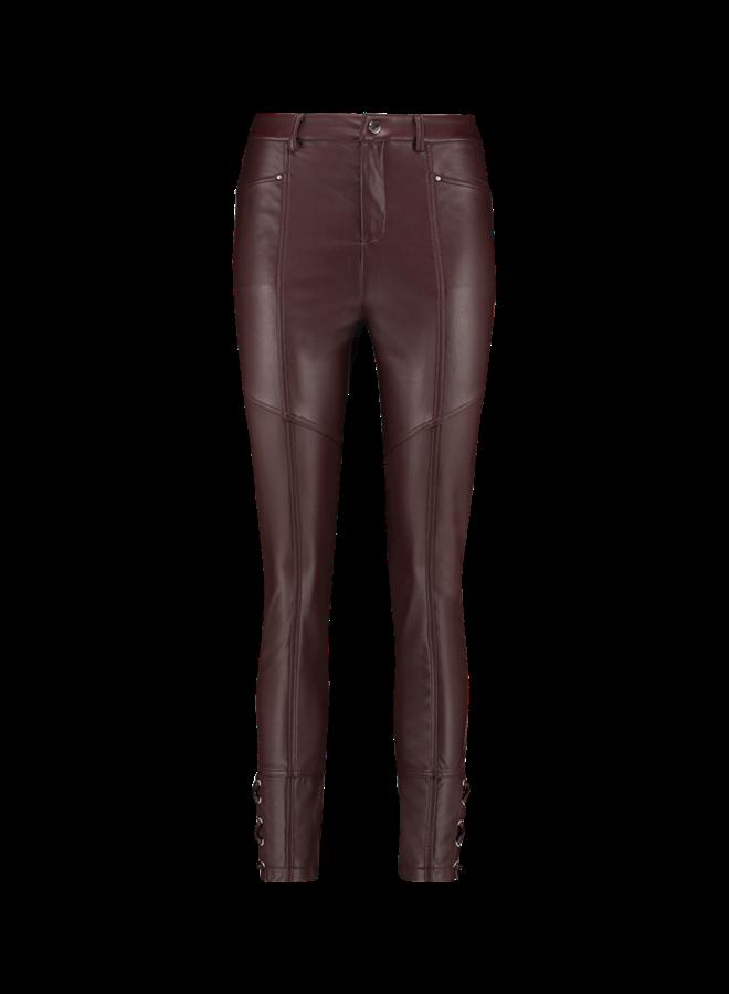 Trousers Sybil Pu 766 | bitter chocolate
