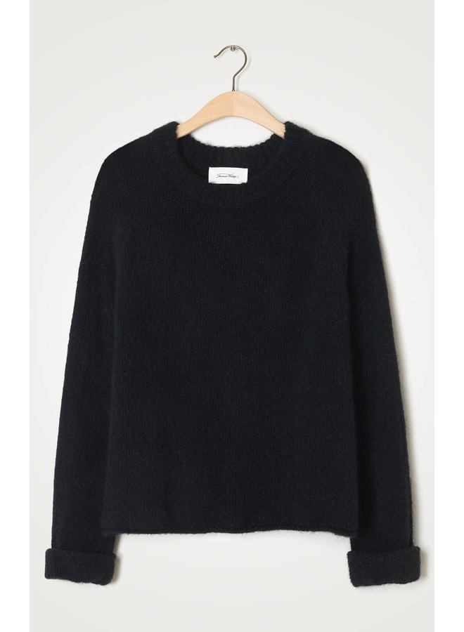 EAST18A PULL ML COL ROND | noir
