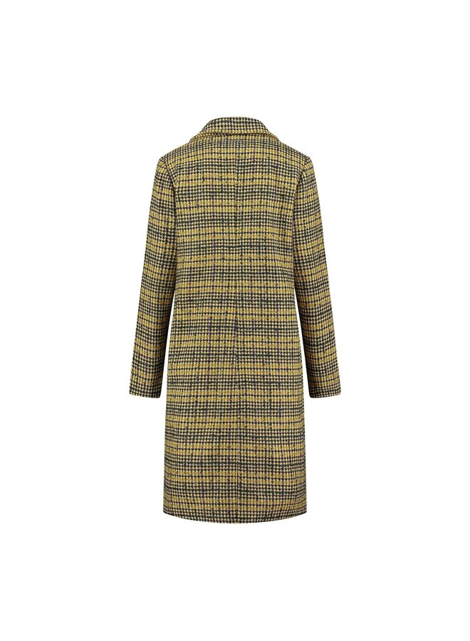 Vivi Coat | 1736-check print