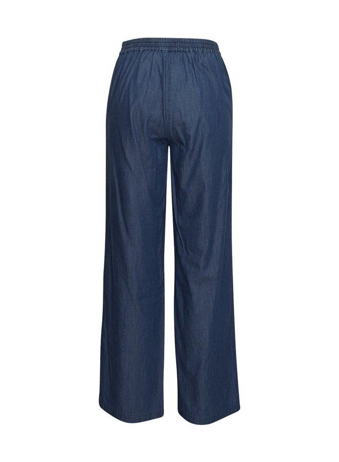 Rida Lyanna Pants | mid blue wash