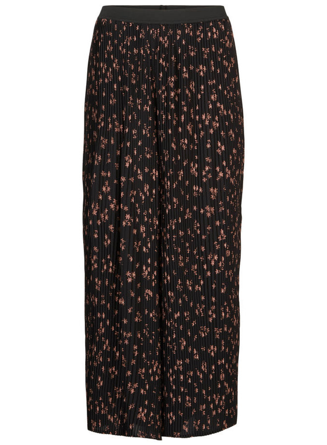 Erica Print Pants | forest flower