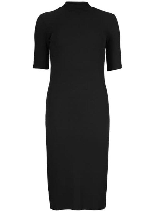 Krown T-shirt Dress | black