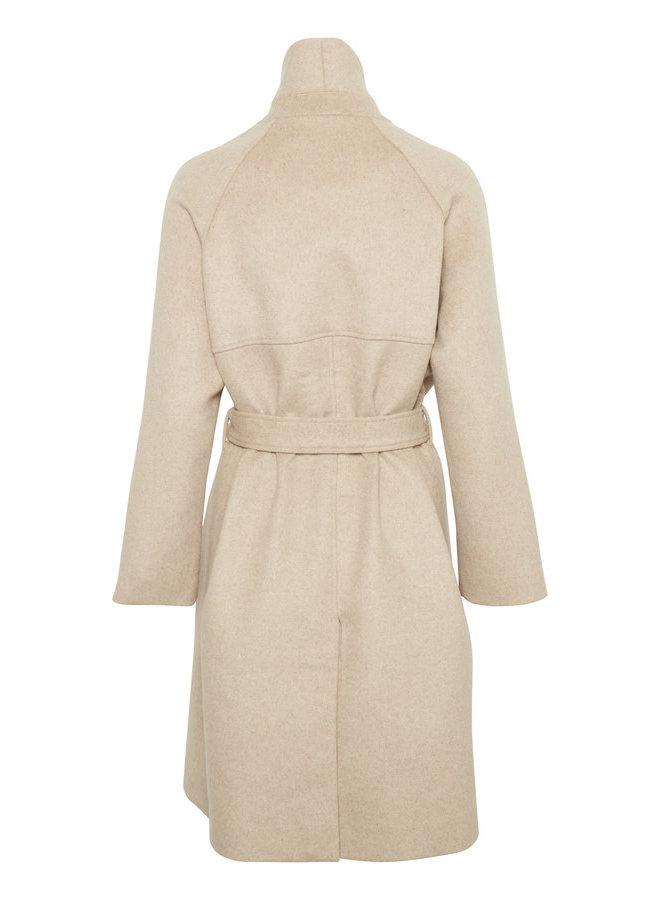 Sl Daniella Coat | light taupe melange