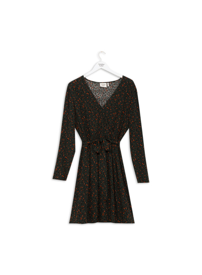 Deolin Dress L/S | sycamore animal