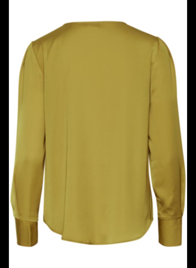 Blouse s/s -  IHJANDRA LS | golden palm 170839