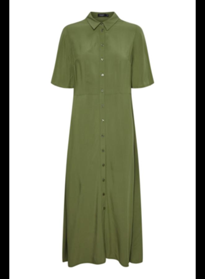 Sl Canelle Rafina Shirt Dress | olivine