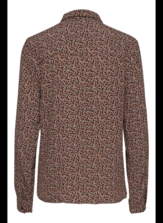 Woven Shirt l/s -  IHBRICK SH | black 194008