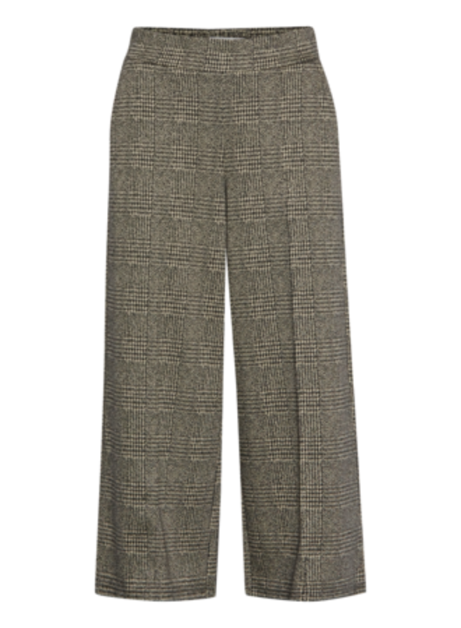 Pants-knitted -  IHKATE GRID PA | black 194008 | Maat XL
