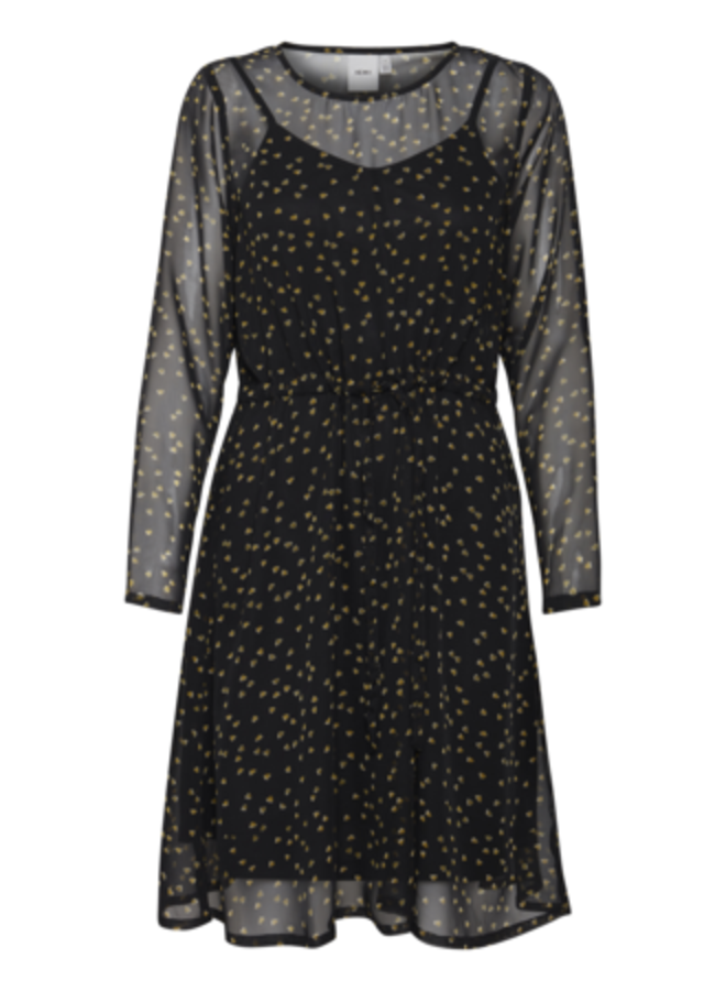 Dress-light woven -  IHBETTY DR | black 194008