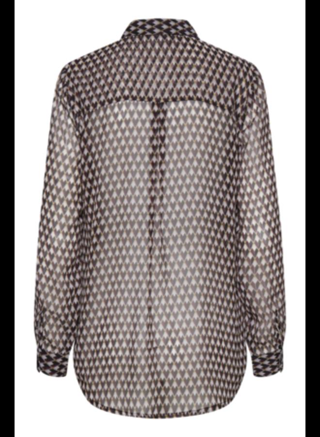 Woven Shirt l/s -  IHASSIP SH | sassafras 191624
