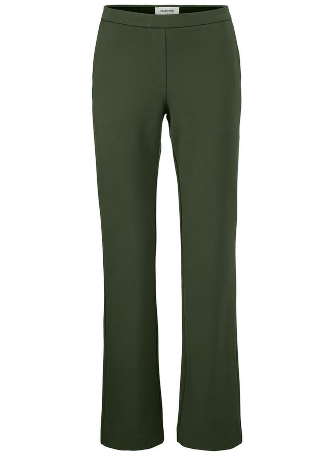 Tanny Flare Pants | dark khaki