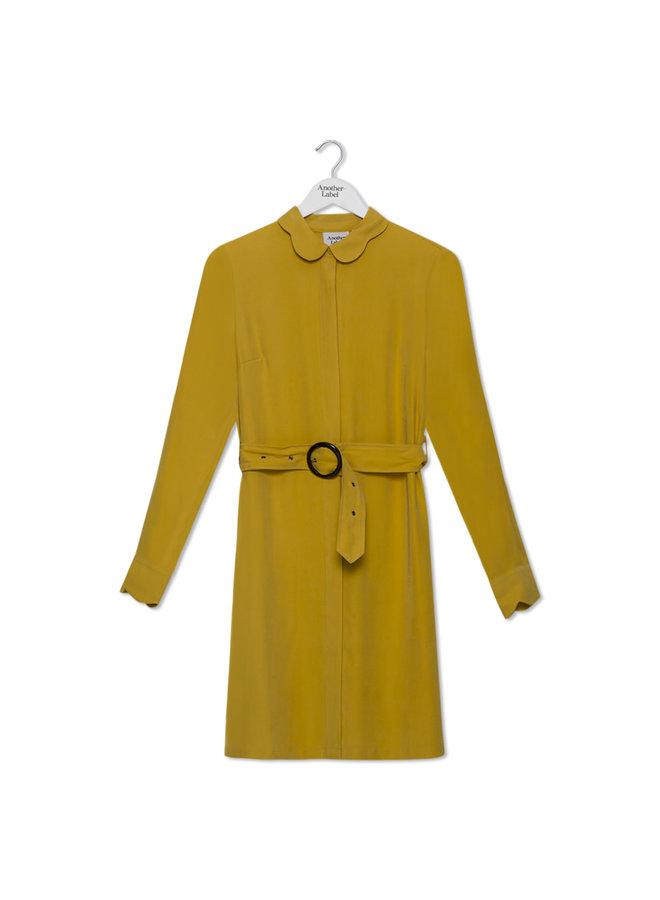 Peri Dress L/S | lemon curry | Maat S