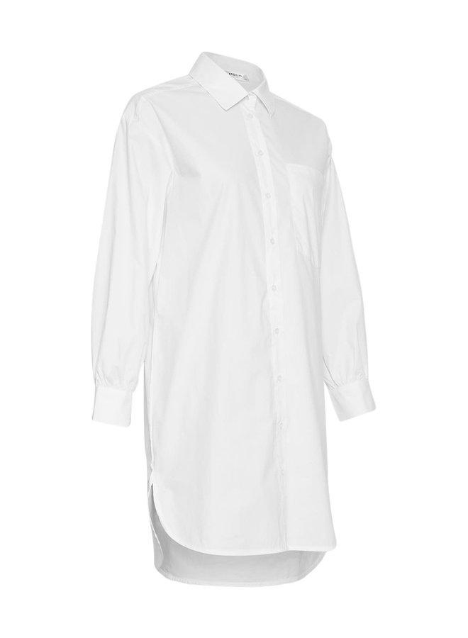 Anou Ava LS Shirt | bright white