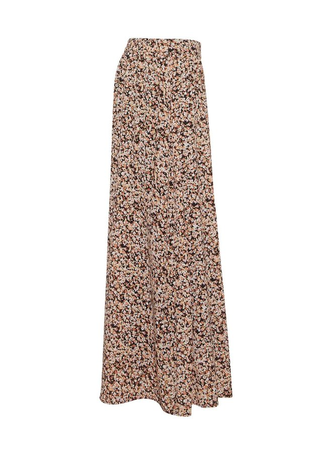 Merila Rikkelie Skirt AOP   black dots
