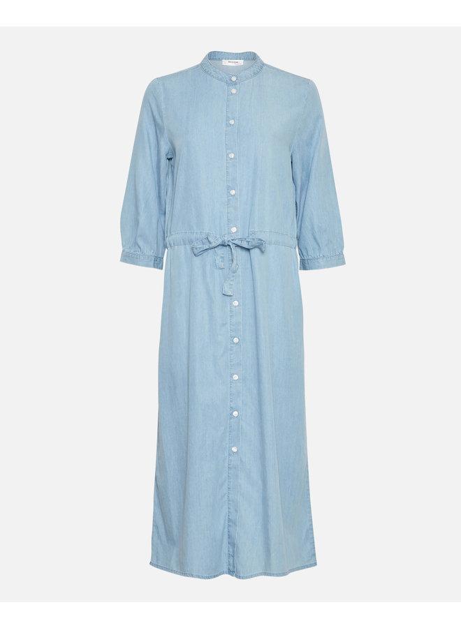 Jaina 3/4 Dress   l blue wash