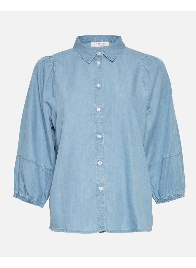 Jaina 3/4 Shirt | l blue wash