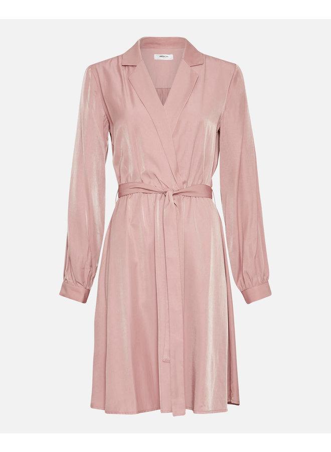 Nille LS Dress | ash rose