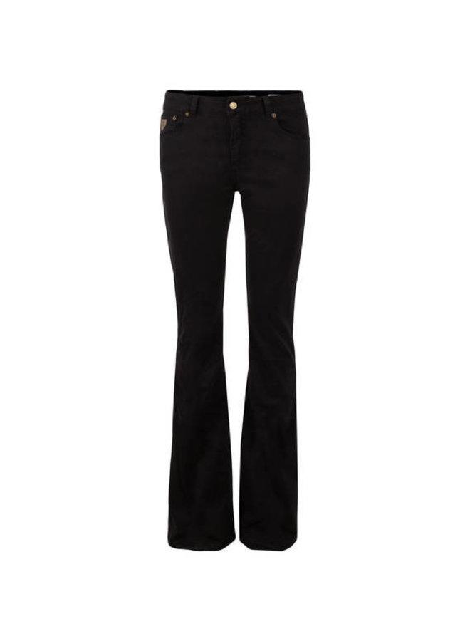 5043 Lea Soft Colour Raval | black lengte 30