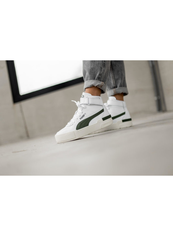 Cali Sport Top Warm Up Wn?s | Puma White-Thyme-Marshmallow