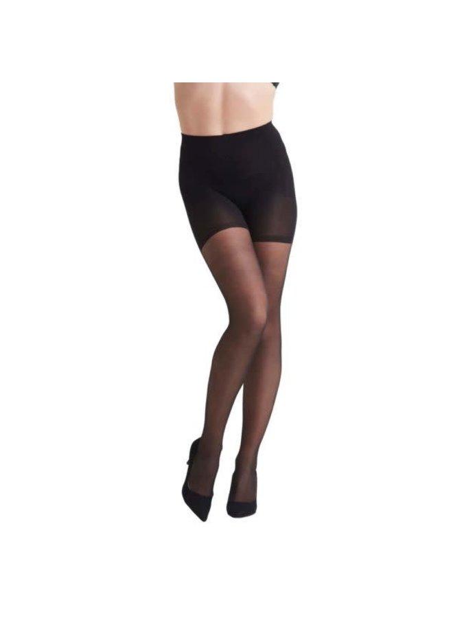 High Waist shape up tights 15d | black
