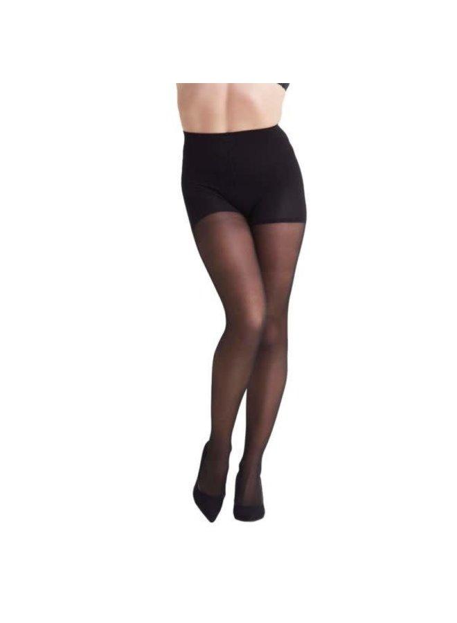 High Waist shape up tights 40d | black