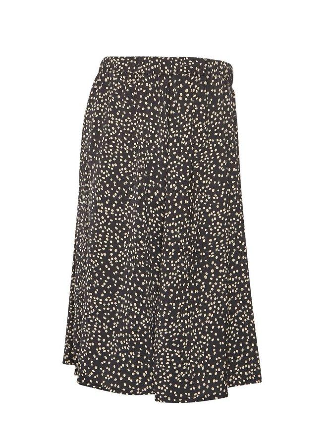 Talla Beach Skirt AOP | black dot
