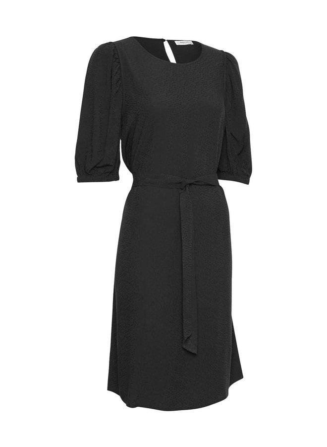 Aili 2/4 Dress | black