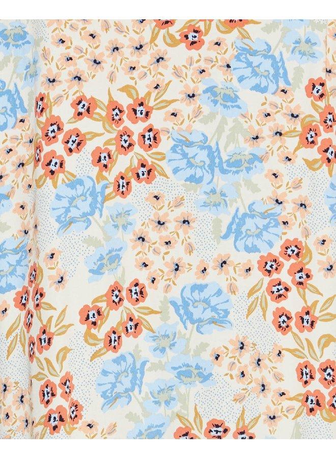 Ashlyn Raye 2/4 Dress AOP | wood ash flower