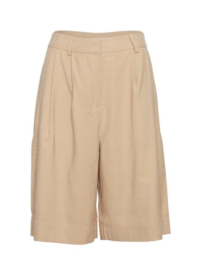 Selia HW Long Shorts | warm sand
