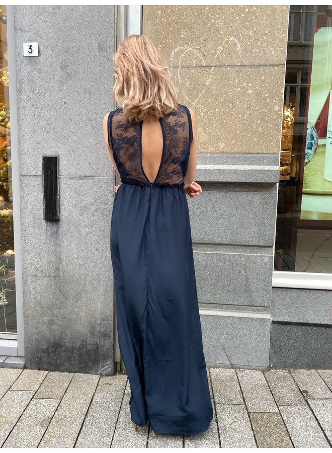 YAS Elena SL Maxi Dress | dark sapphire