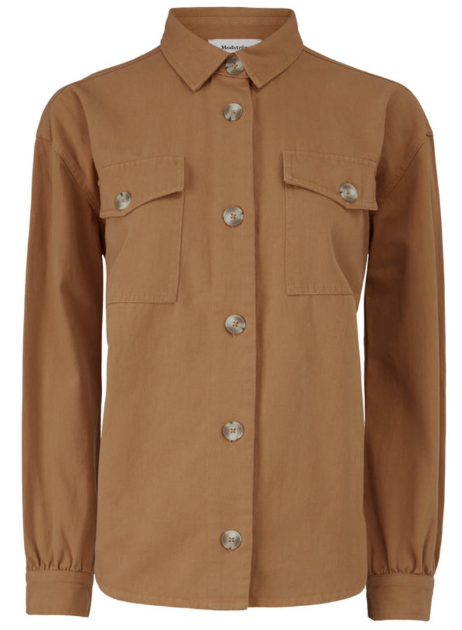 Catalina Shirt | brown oak