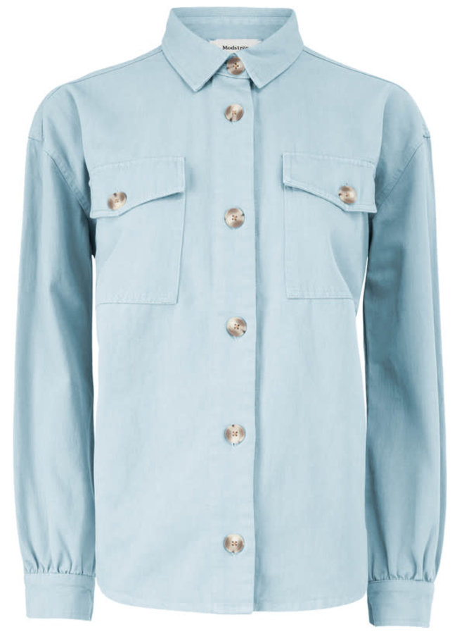 Catalina Shirt | chambray blue