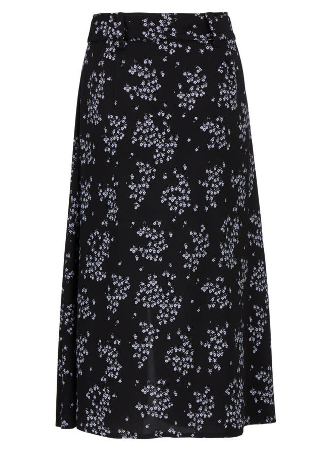 Hunch Print Skirt | flower pond
