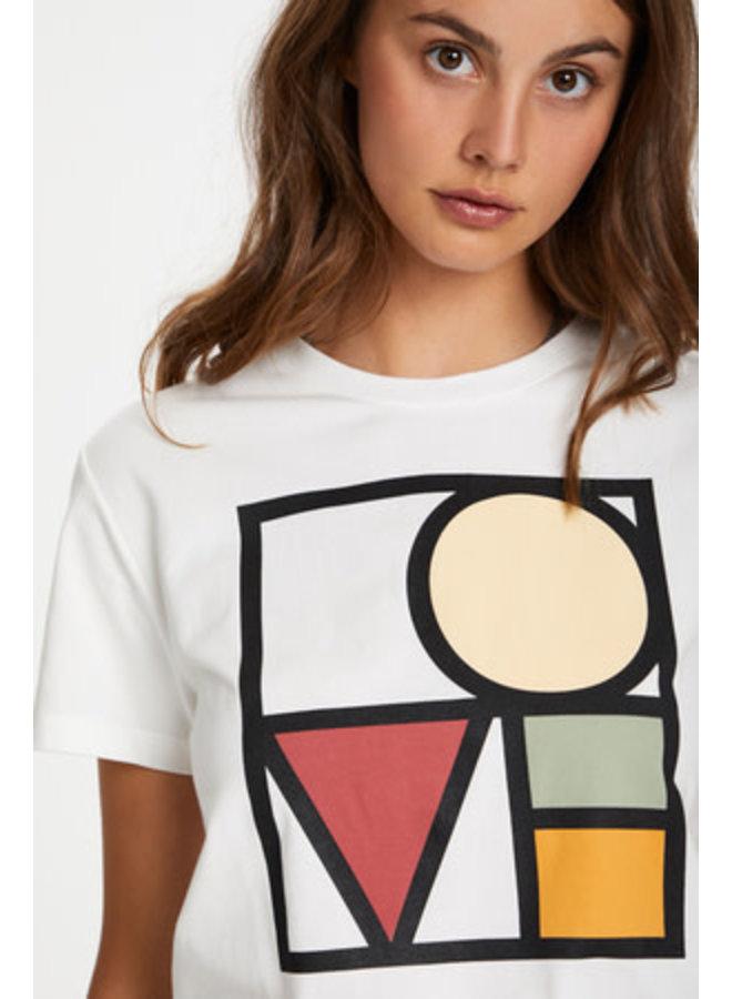 SLBo T-shirt SS   broken white