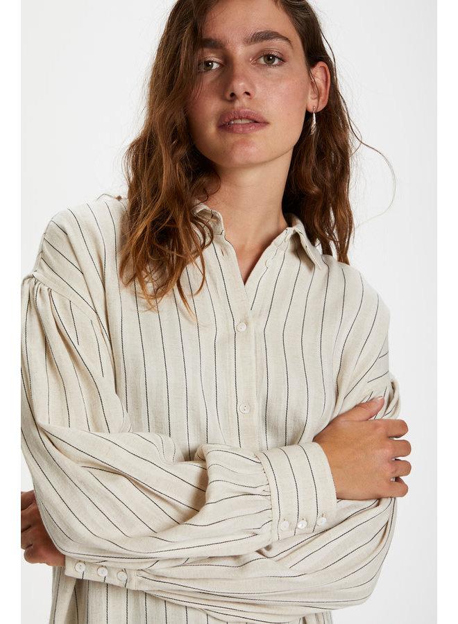 SLJules Shirt Dress LS | antique white